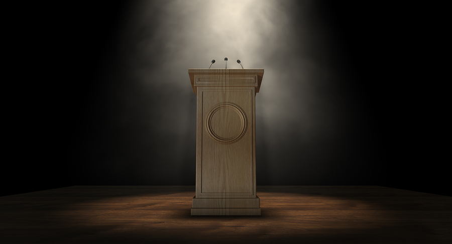 Podium vs. Lectern | Manner of Speaking